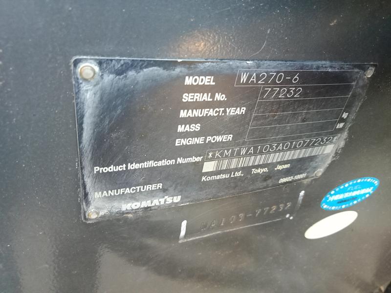 KOMATSU-WA270-6 77232 (14)