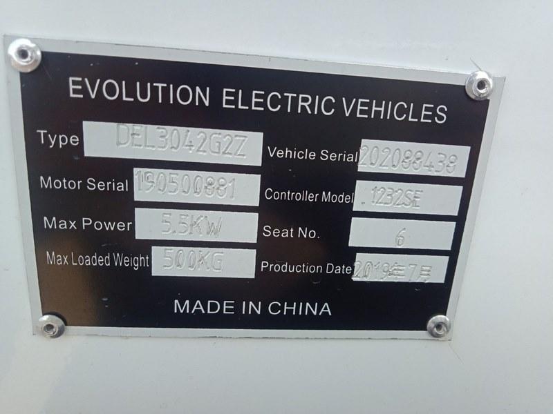 รถกอล์ฟ EVOLUTION