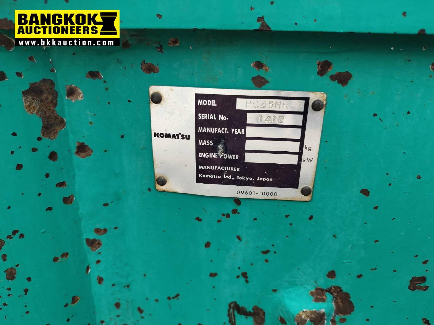 รถขุด KOMATSU PC45